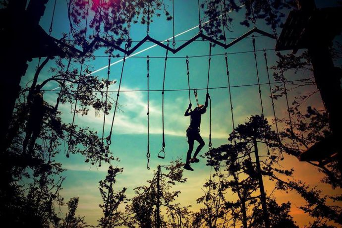 Photo: Adventure park Postojna