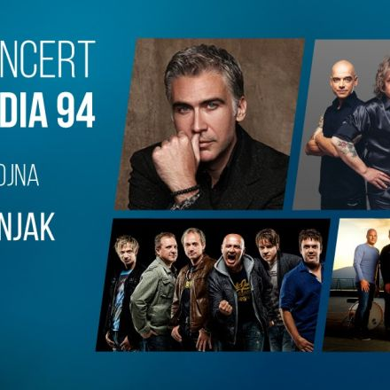 Koncert Radia 94: Jan Plestenjak, Šank Rock, Pop Design (21.9.2019)